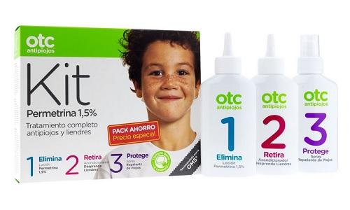 OTC antipiojos kit 123