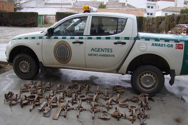 Es ilegal colocar cepos de caza
